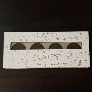 Empty Four Pan Colourpop Palette